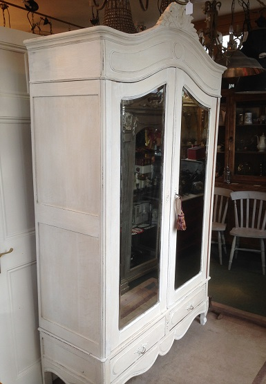 Flemish Painted Armoire