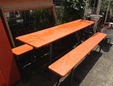 German Garden Furniture German beer hall table and benches the conservatory theconservatoryhovesussexgarden workwithnaturefo